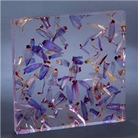 立体植物夹胶玻璃