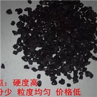 黑色耐磨地坪金刚砂材料