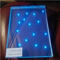LED发光玻璃 通电发光玻璃 电控发光玻璃