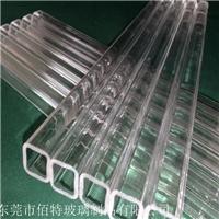 耐高温石英玻璃方管 厚壁石英玻璃 异形管