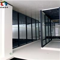 濟南高隔間辦公室玻璃隔斷百葉隔斷維護保養