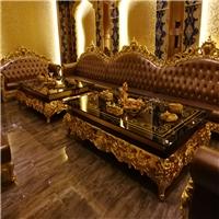 广州厂家直销钢化玻璃钢欧式KTV酒吧茶几 专业订制