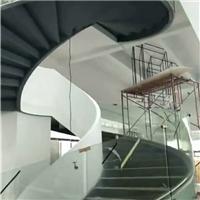 忠信有弯钢化电梯玻璃供应