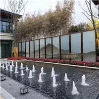 夾畫玻璃 夾山水畫玻璃 夾抽象畫玻璃