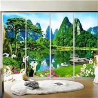 玻璃移门彩绘uv平板打印机 恒诚伟业