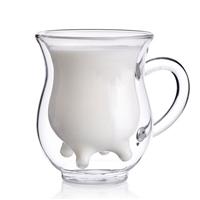 高硼硅玻璃牛奶杯子