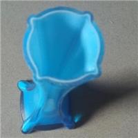北京采购-蓝色玻璃花瓶