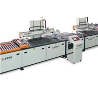 新型全自动玻璃穿梭平面丝印机TY-GL6090ST-2
