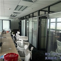 东莞中空百叶双玻璃隔断厂家