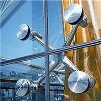 西安雨棚玻璃夹无数胶玻璃
