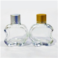 批發蘋果玻璃瓶吊飾香水瓶