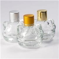 小貓香水瓶汽車吊飾玻璃瓶
