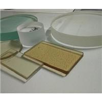高温钢化硼硅玻璃 玻璃视镜 石英光学玻璃