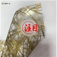 厂家直销艺术玻璃夹绢夹丝材料金属丝屏风隔断夹胶玻璃
