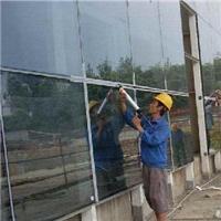 广州中空钢化玻璃幕墙胶补胶打胶