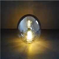 玻璃燈罩100x110蛋球G9牙煙灰色