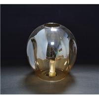 玻璃灯罩 150龙蛋吸3窝琥珀色