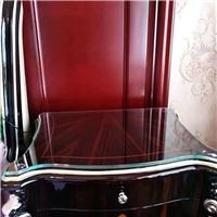 太原钢化玻璃桌面 餐桌 茶几 实木家具玻璃