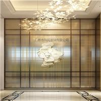 夹丝玻璃 电梯间夹丝玻璃 隔断夹丝玻璃