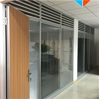 深圳办公室玻璃百叶隔断工厂