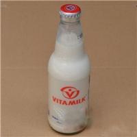 徐州玻璃瓶厂家供应优质玻璃豆奶瓶