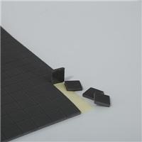 河北玻璃軟木墊廠家直供PVC泡棉EVA墊玻璃墊1.5+1mm