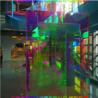 廣州白云炫彩玻璃魔幻玻璃變色玻璃七彩玻璃靚彩玻璃