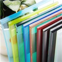 广州卓越采光玻璃彩光玻璃彩色夹胶玻璃