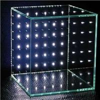 卓越发光玻璃内镶LED灯珠玻璃广州特种玻璃