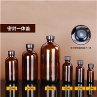 茶色玻璃瓶棕色波士顿瓶 洗手液瓶 药瓶16oz喷雾瓶