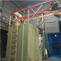 广东高效率喷砂机喷粉处理吊钩式抛丸机