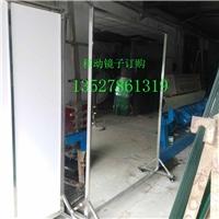 广州舞蹈教室玻璃镜子安装墙面落地镜移动式舞蹈镜安装
