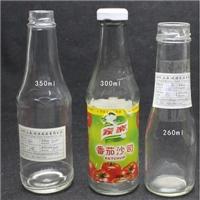 回收透明玻璃空酒瓶,
