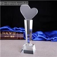 季度業績獎 門店業績銷冠獎杯 長沙水晶獎杯工廠