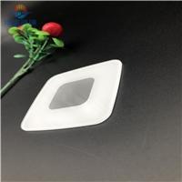 供应小片白色丝印玻璃,白色丝印面板玻璃