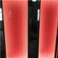 彩色坑紋工藝玻璃