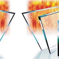 10mm送检测火烧防火玻璃