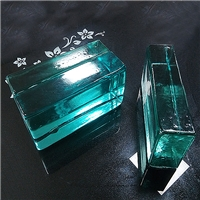广州卓越特种玻璃实心彩色玻璃砖