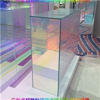 广州卓越特种玻璃夹胶钢化炫彩玻璃