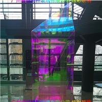 广州卓越特种玻璃夹胶炫彩玻璃