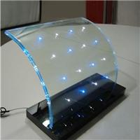 广州卓越特种玻璃内镶LED灯珠玻璃