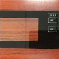加工定制玻璃絲印面板指紋鎖中控