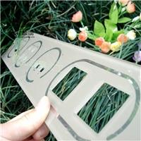 超小钢化玻璃 灯具玻璃 面板玻璃 厂家直销 物美价廉
