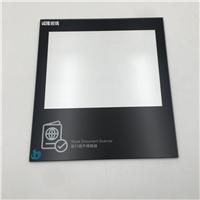 酒店门卡钢化玻璃|不反光AG玻璃订制加工丝印
