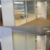 贵州遵义市投影调光膜,办公室变色玻璃膜,磨砂通电膜