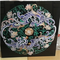 佛山珐琅彩工艺玻璃