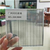 夾金屬絲玻璃 高端金屬絲屏風玻璃