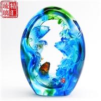 广州古法琉璃装饰品 琉璃工艺品厂家 琉璃工厂礼品