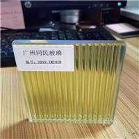 条纹玻璃 装饰条纹隔断玻璃 条纹夹胶玻璃