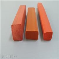 硅膠矩形海綿發泡密封條